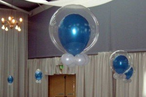 Balloon Double Bubble